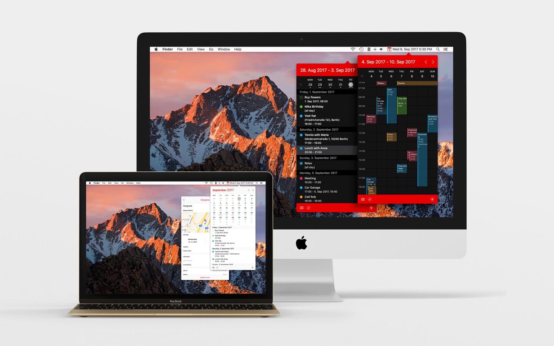 Calendar 366 II for Mac 2.0.7 破解版 - 优秀的菜单栏日历工具