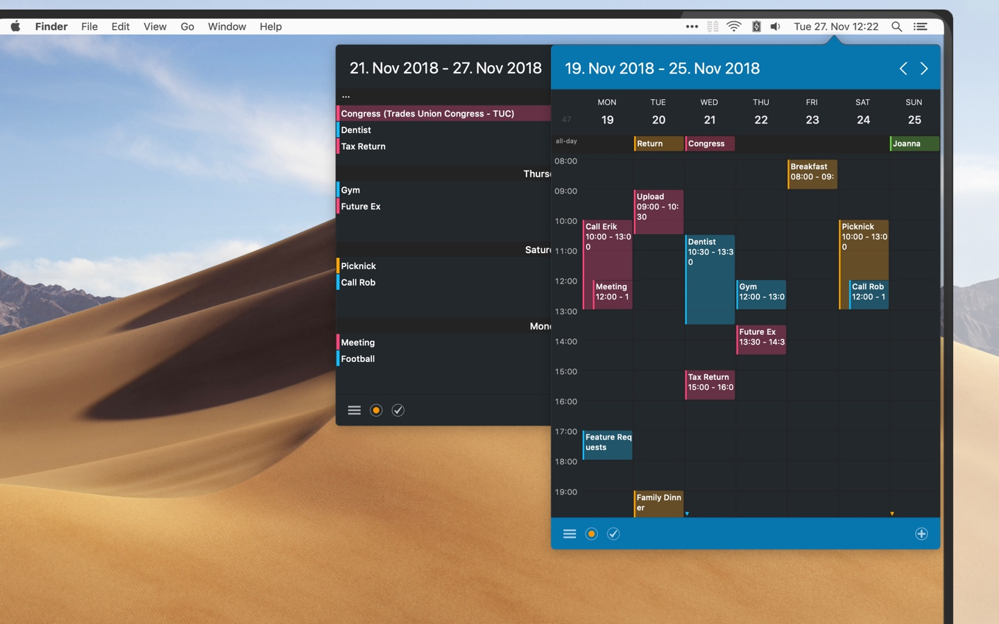 Calendar 366 II for Mac